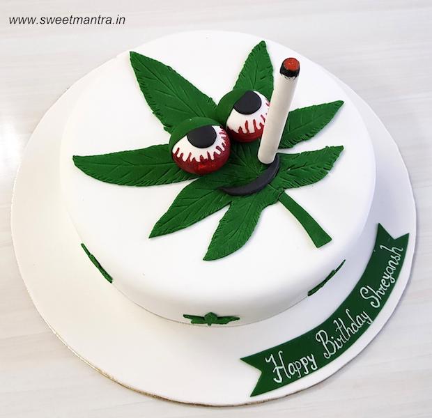 Order 3D Weed Hookah Beer Cake In Pune