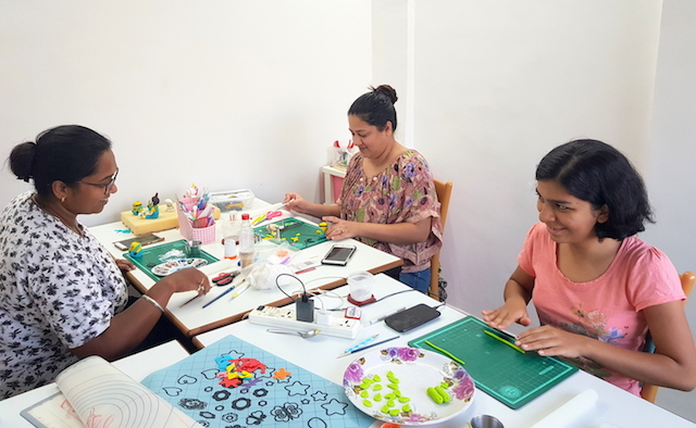 Sweet Mantra's Cake Artists at work in Pune