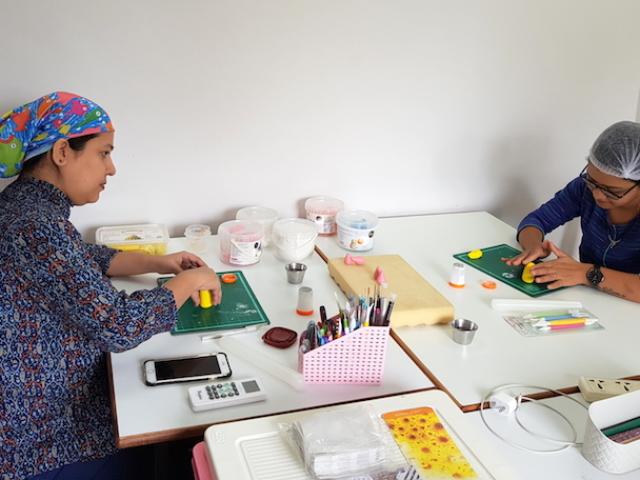 Fondant cake classes, workshop in Pune